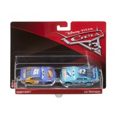 Cars 3 Bobbie Swift i Cal Weathers, Mattel DXV99 DXW03 Disney Auta 3