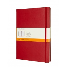 Moleskine Classic Notes w linie notebook hard red XL, MOQP090F2 notesy