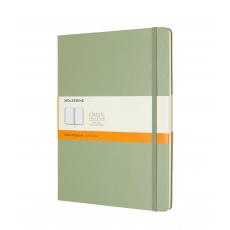 Moleskine Classic Notes w linie notebook hard willow green XL P090K12