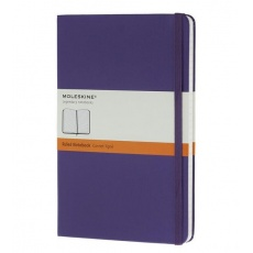 Moleskine Notebook notes w linie large hard brilliant violet