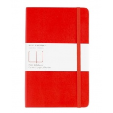 Moleskine Notes gładki notebook large czerwony hard MOQP060R