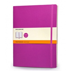 Moleskine Notes XL w linie notebook extra large soft orchid purple