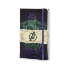 Moleskine Notes w linie hard L Limited Edition The Avengers Hulk