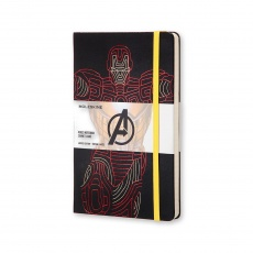 Moleskine Notes w linie hard L Limited Edition The Avengers Iron Man