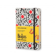 Moleskine Notes w linie hard S Limited Edition The Beatles All You Need Is Love