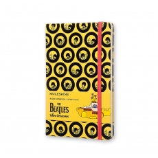Moleskine Notes w linie hard L Limited Edition The Beatles