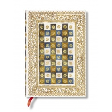 Paperblanks® Venetian Mornings Notes w linie Aureo Midi