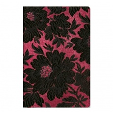 Paperblanks® Chic & Satin Notes w linie Black Dahlia Mini