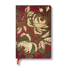 Paperblanks® Chic & Satin Notes w linie Dusk Rose Mini