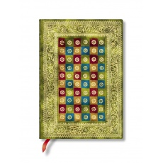 Paperblanks® Venetian Mornings Notes w linie Verde Midi