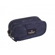 Piórnik saszetka 2 komory CoolPack Clever A566 Camo Navy Patio 84397CP