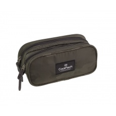 Piórnik saszetka 2 komory CoolPack Clever A570 Camo Green Patio 84465CP
