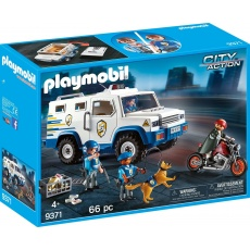 Playmobil® City Action 9371 Transporter pieniędzy