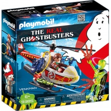 Playmobil® The Real Ghostbusters™ 9385 Venkman z helikopterem