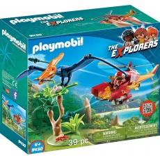 Playmobil® The Explorers 9430 Helikopter z pterodaktylem