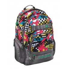 Plecak Coocazoo CarryLarry II Checkered Bolts Hama 129970