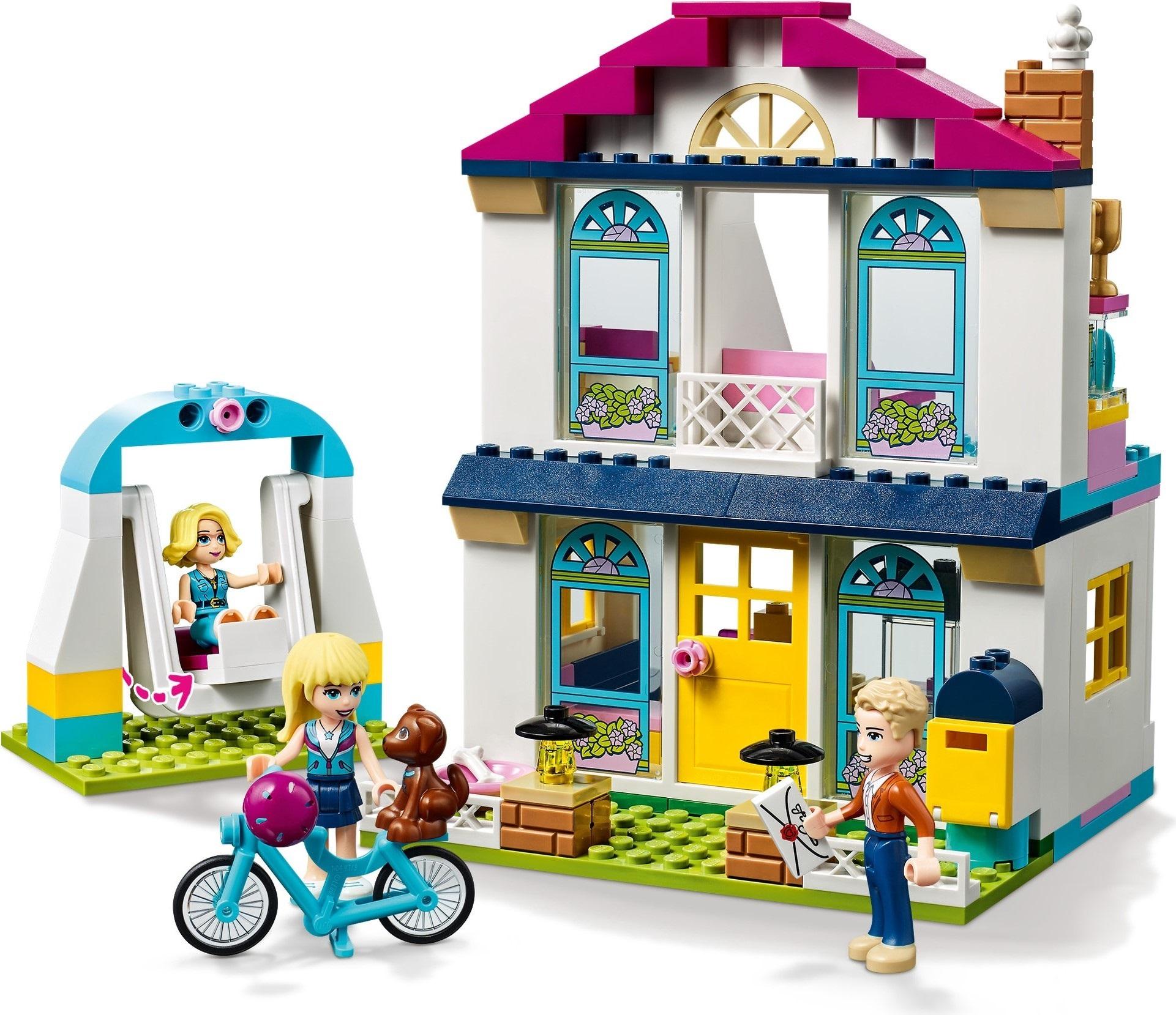 LEGO Friends 4+ 41398 Dom Stephanie :: Sklep Kleks